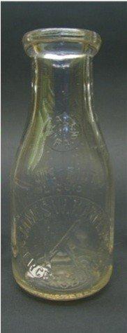 1007: James W. Karper, Mercersburg, PA Milk Bottle