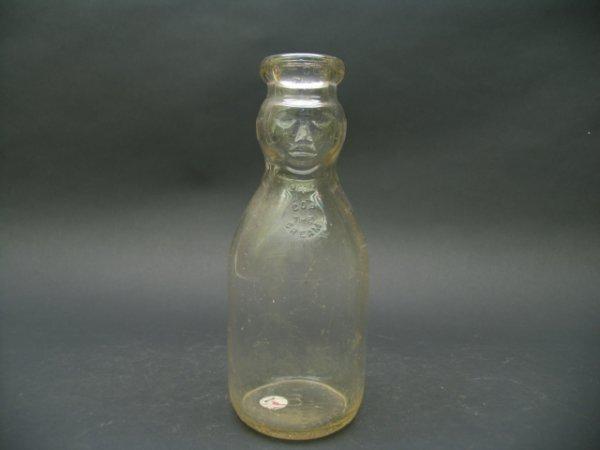 1009: Cop Top-No Name Milk Bottle