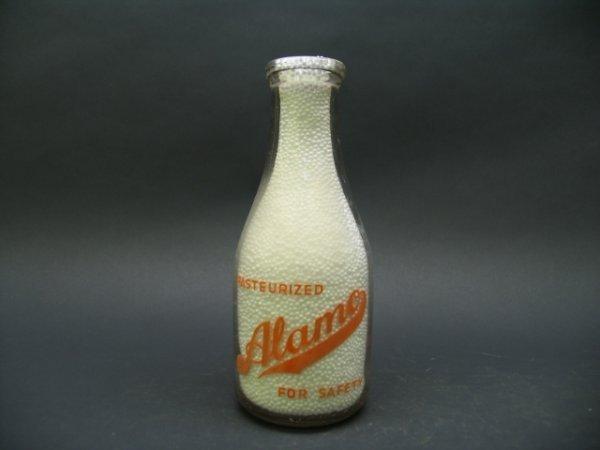 1021: Alamo For Safety Milk Bottle