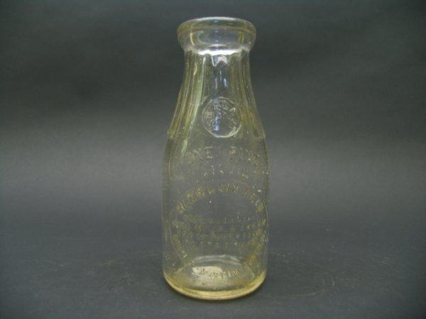 1536: W. Melvin Reid, Martinsburg, WV Milk Bottle