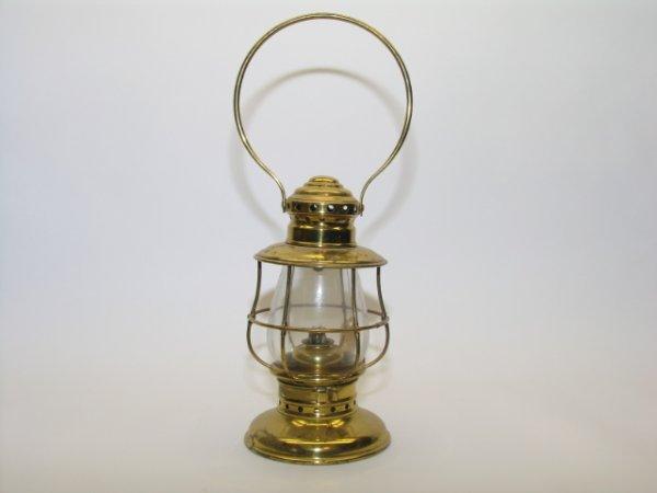 2008: Brass Pullman Conductors Hand Lantern
