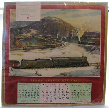 2021: 1950 Pennsylvania Railroad Calendar