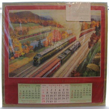 2022: 1951 Pennsylvania Railroad Calendar