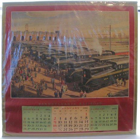 2024: 1955 Pennsylvania Railroad Calendar