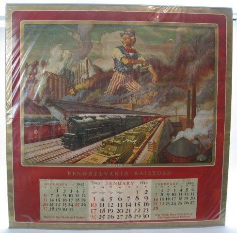 2160: PRR 1943 Calendar - Complete