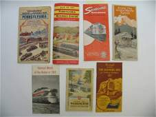2231 Miscellaneous Railroad Pamphlets and Maps