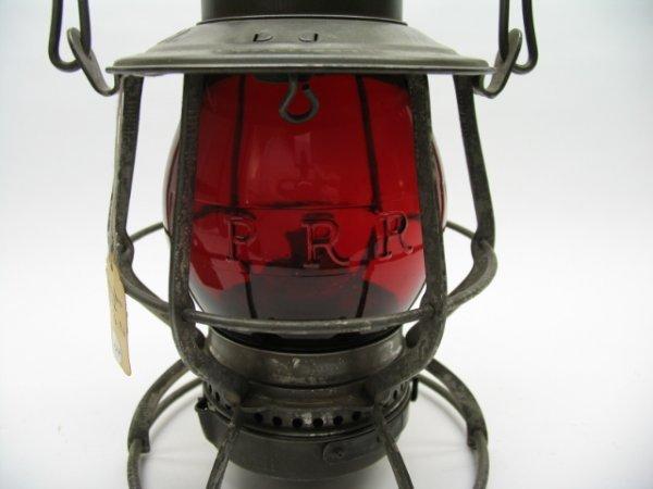 2424: PRR Lantern/Red PRR Embossed Globe - 2