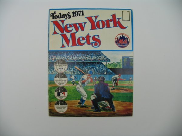 3: New York Mets 1971 Official 1st Edition Album