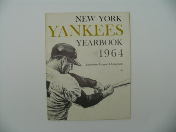 4: New York Yankees 1964 Yearbook