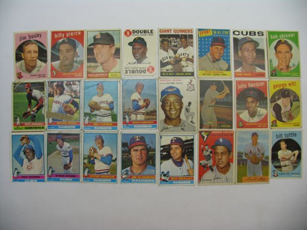 8: Baseball Card Lot 100+ HOF, Star, Rookies