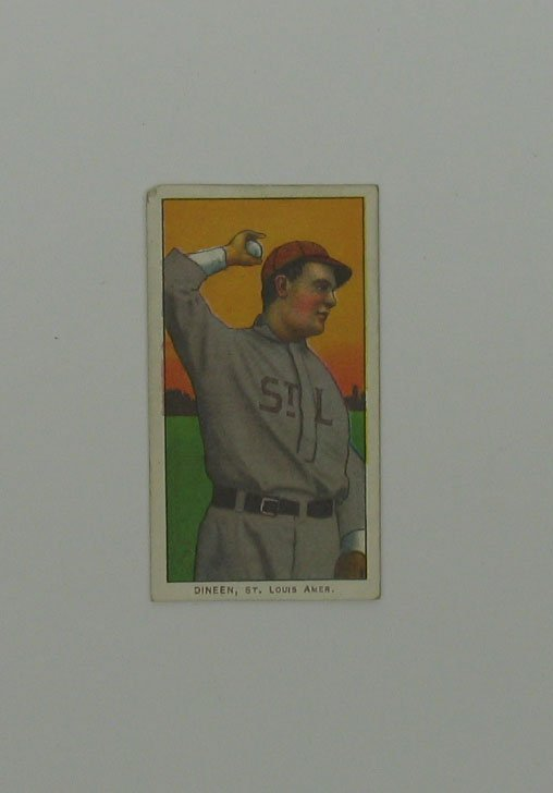 10: DINEEN St. Louis 1909 T206 Tobacco Card