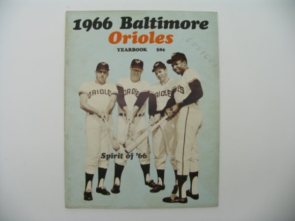 14: Baltimore Orioles 1966 Official Yearbook