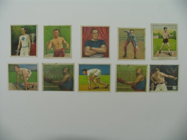 17: T218 Boxer & Athlete Tobacco Card Grouping 10
