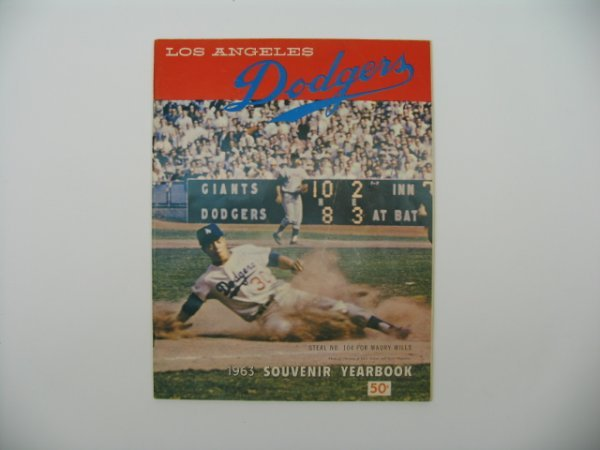 19: L.A. Dodgers 1963 Official Yearbook
