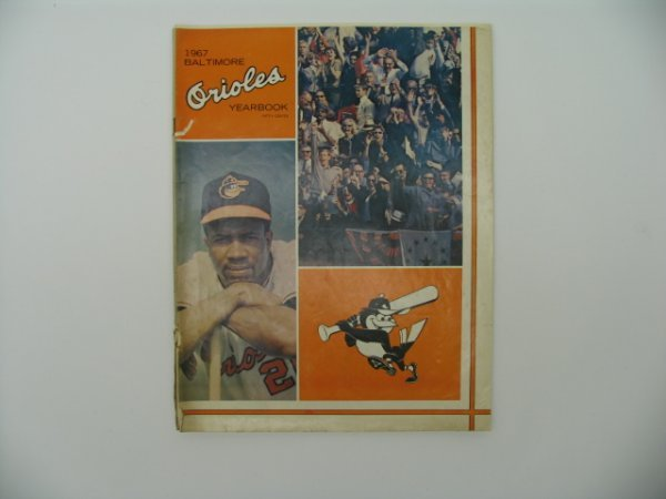 24: Baltimore Orioles 1967 Official Yearbook