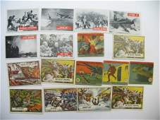 422: War Related Vintage Cards Grouping of (17)