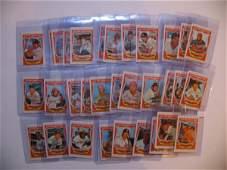 558: 1973 Kellogg's Baseball Cards Partial Set