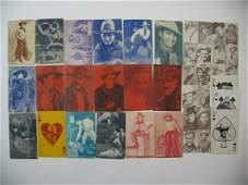 575: Vintage Cowboy & Western Exhibit Card Grouping