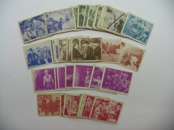 596: Hopalong Cassidy 1950 Topps Partial Set
