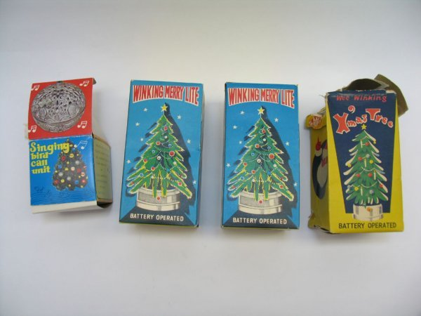 1015: (2) Battery Operated Winking Merry Lites