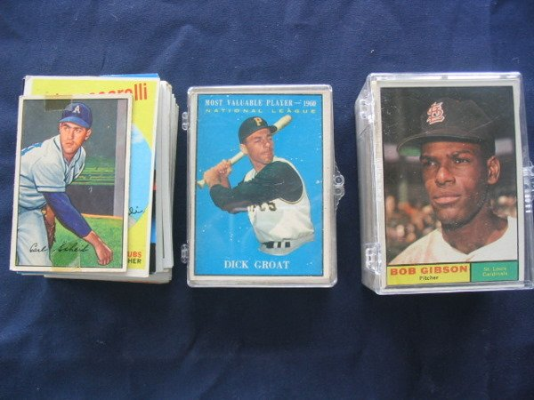 8: (3) Baseball Card Lots Vintage, Star & Rookie Cards