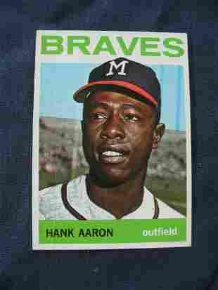 Hank Aaron 1964 Topps Card