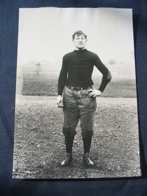 22: Jim Thorpe Football Photo as a Carlisle Indian