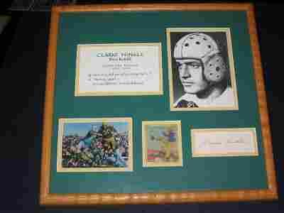356: Clarke Hinkle Framed Piece