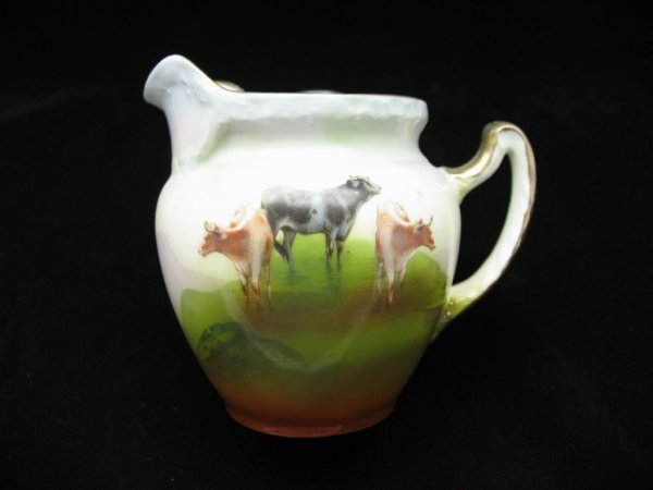 2023: Royal Bayreuth Pitcher with Cows, 5""