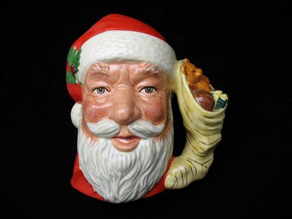 """2432: Royal Doulton Santa Claus Pitcher, 7.5""""H"""