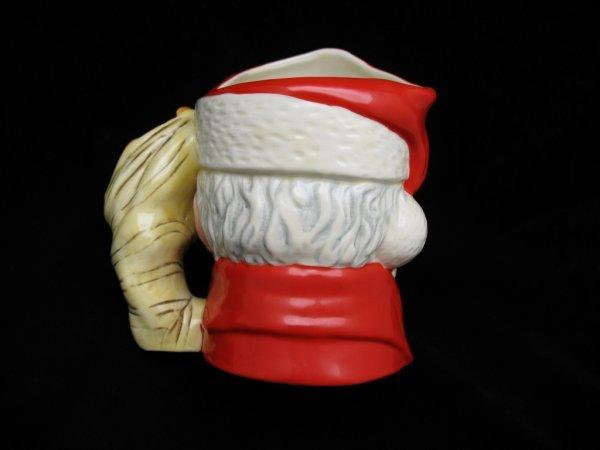 """2432: Royal Doulton Santa Claus Pitcher, 7.5""""H - 2"""