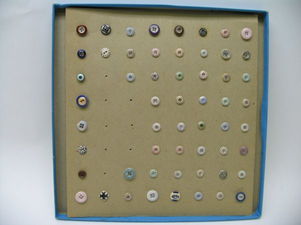 4014: 56 Buttons, Mostly Calico