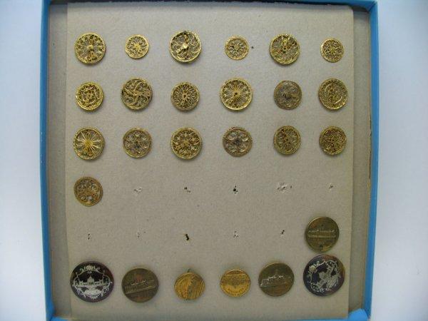 4023: 26 Buttons, Brass, Souvenir