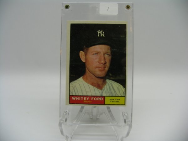 6001: Whitey Ford Yankees Topps Baseball Card #160