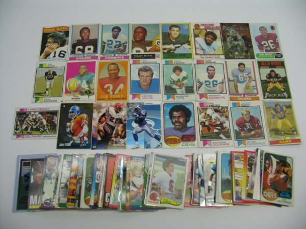 """6008: Football Card Lot of More Than """"100"""" Cards"""