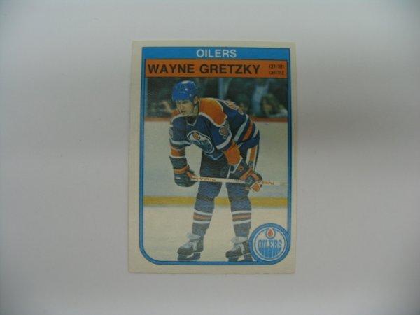 6011: Wayne Gretzky 1981-82 O-Pee-Chee Hockey Card