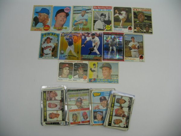 """6013: Baseball Card Lot of More Than """"150"""" Cards"""