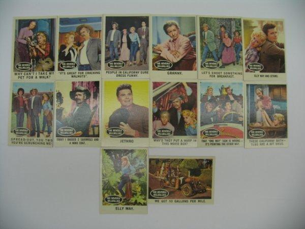 6015: 1963 Topps Beverly Hillbillies Cards Grouping