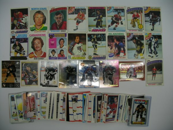 """6018: Hockey Card Lot of More Than """"125"""" Cards"""