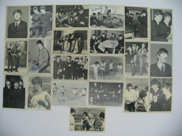 6020: 1964 Topps Beatles 3rd Series Partial Set Card