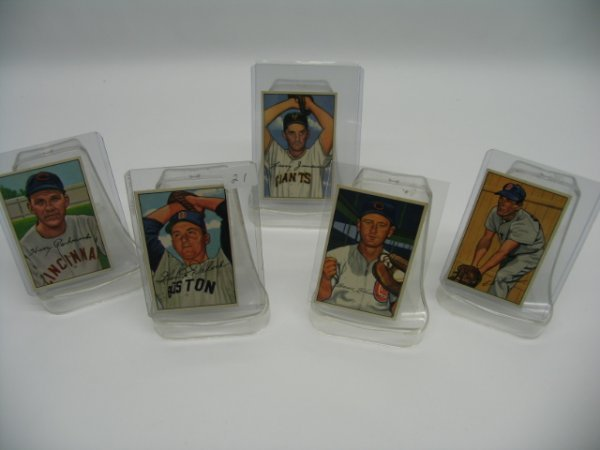 6021: 1952 Bowman Baseball Card Excellent Grouping