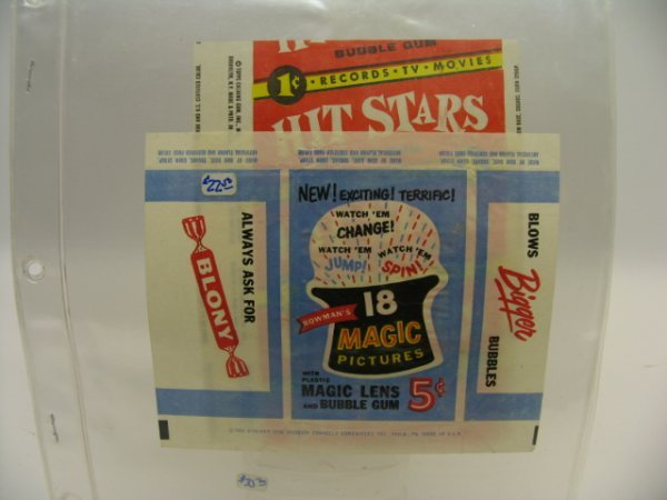 6022: Topps HIT STARS & Bowman MAGIC PICTURES