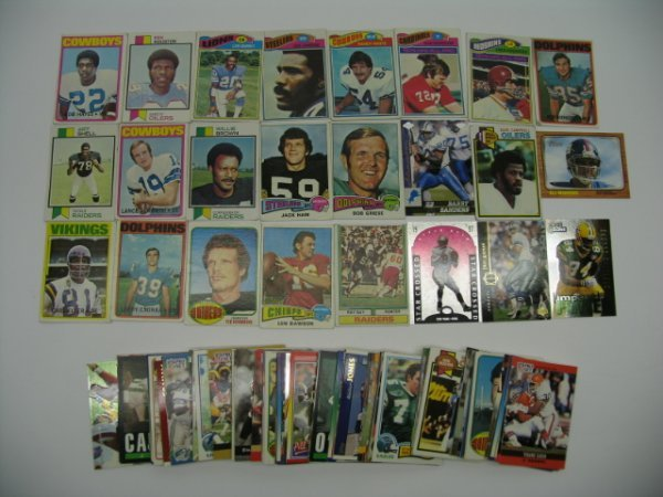"""6023: Football Card Lot of More Than """"100"""" Cards"""