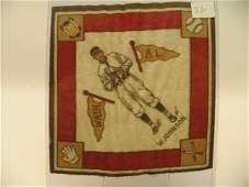 6331: Walter Johnson Senators Tobacco Blanket