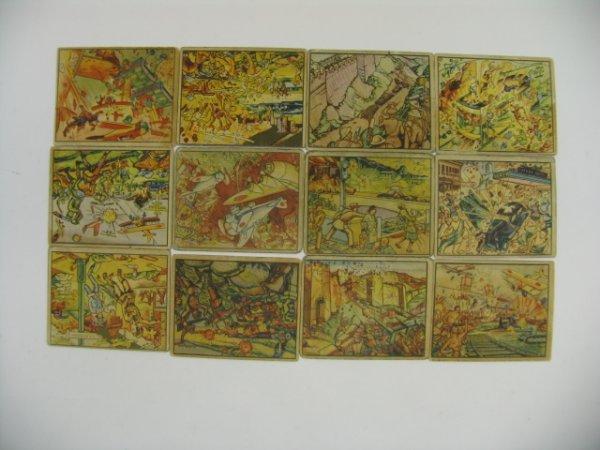 6436: Horrors of War 1938 Gum Inc. Card Grouping