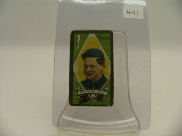 6439: Ed Walsh Chicago White Sox 1911 Tobacco Card