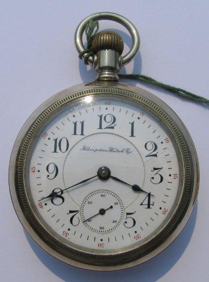 1: Hampden Watch Co Pocket Watch