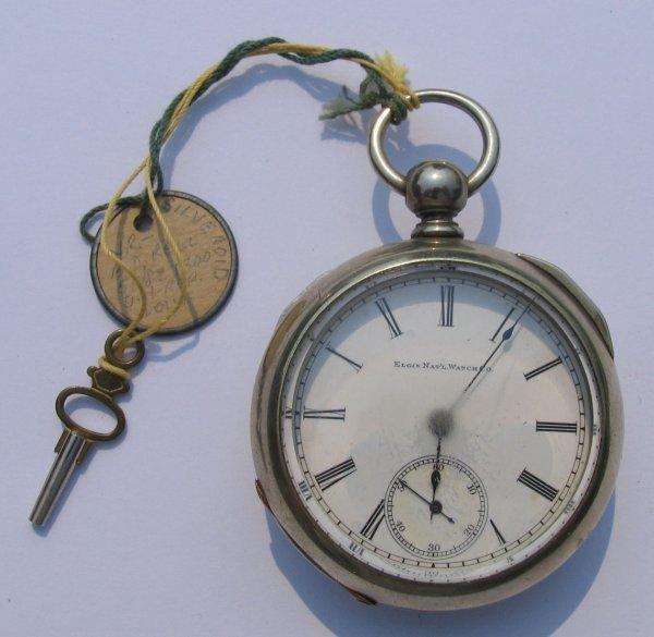 4: Elgin Nat'l Watch Co Key Wind Pocket Watch