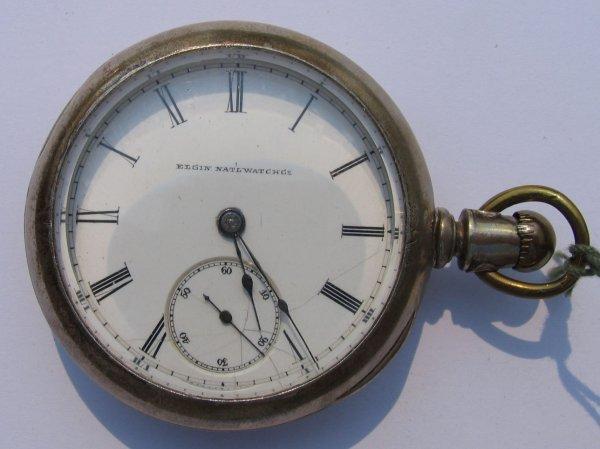 5: Elgin Nat'l Watch Co Key Wind Pocket Watch