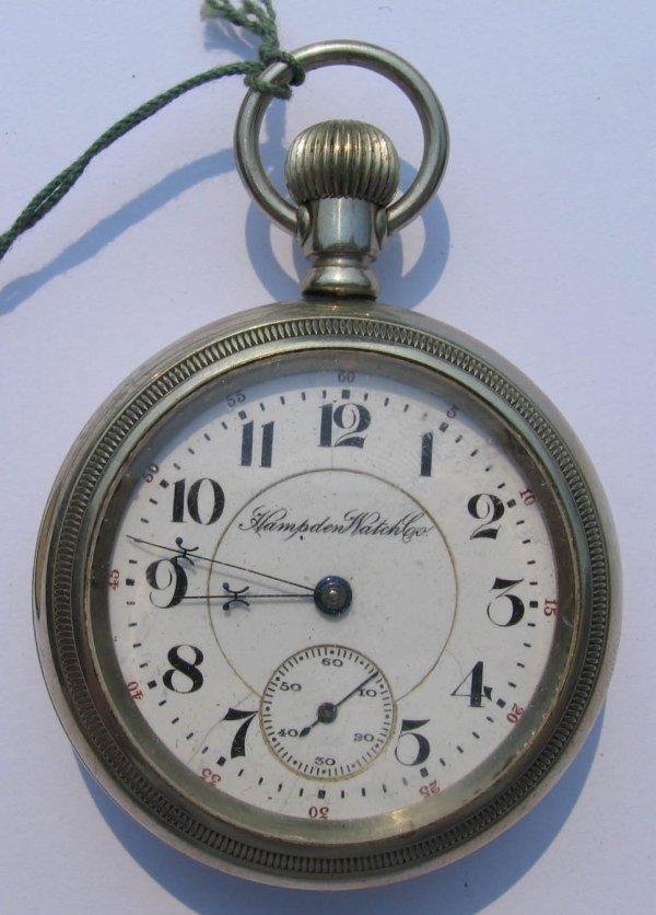 6: Hampden Watch Co Pocket Watch